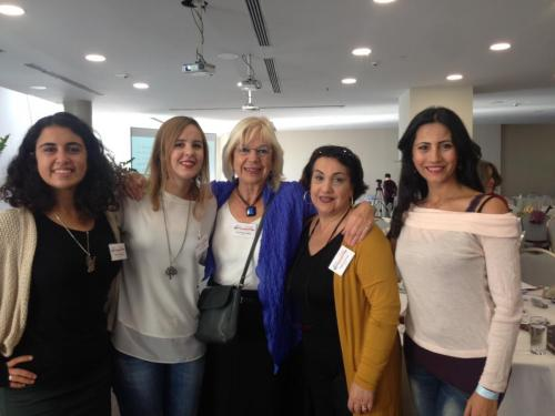 13. Hannelore with Turkish friends